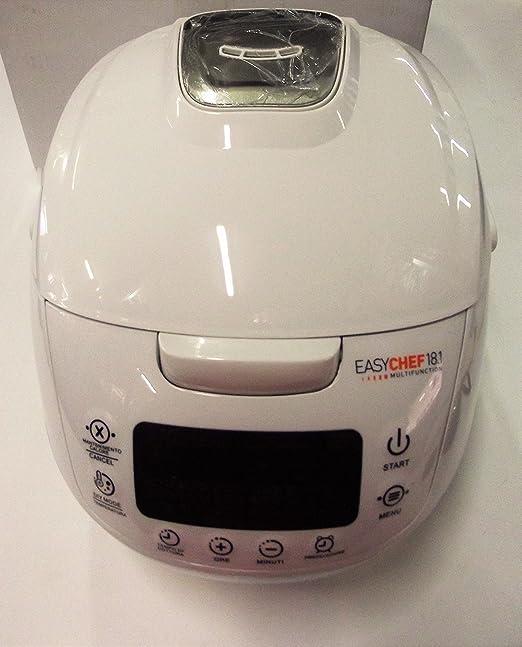 Robot de cocina Multicook Easy Chef 18.1, blanco, 42 funciones: Amazon.es: Hogar