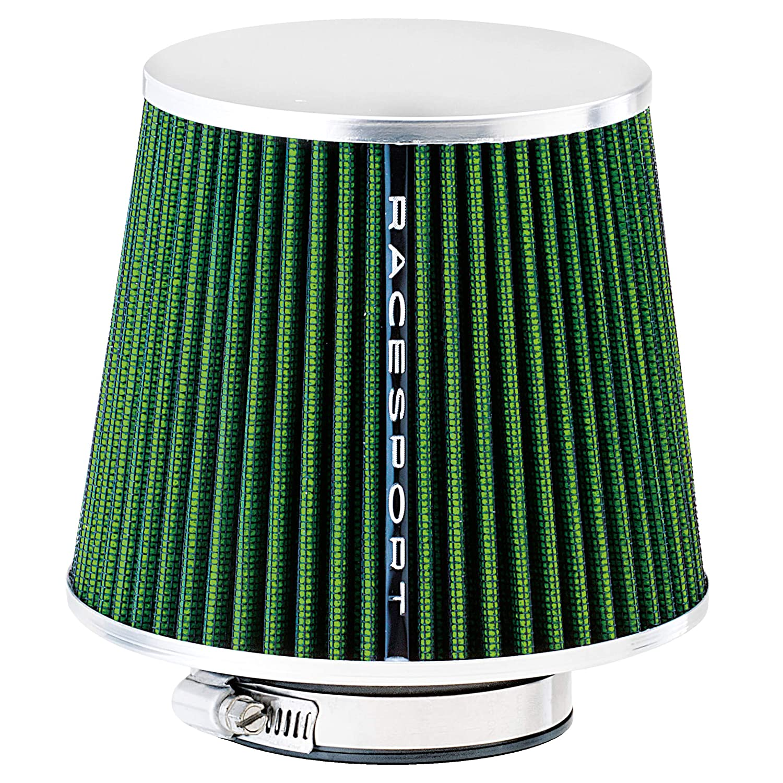 Sumex Airgrin - Filtro Aire Universal con Adaptador, Verde / Cerrado: Amazon.es: Coche y moto