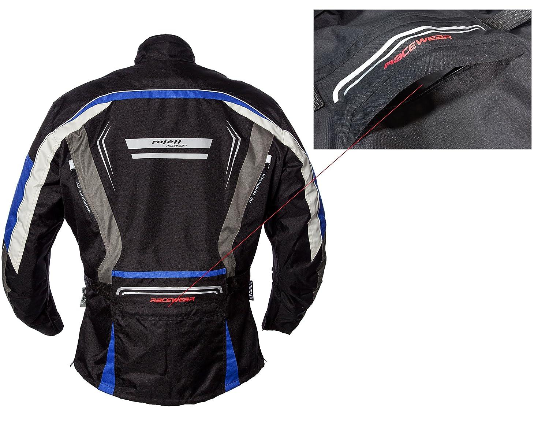 XL ROLEFF RACEWEAR Giacca Moto Torino Blu