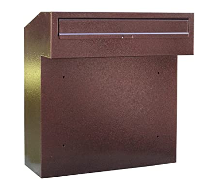 Rear Access Letter Box.Large Rear Access Post Box For Gates And Fences W3 1 Copper