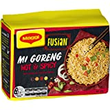 MAGGI Fusian Noodles Mi Goreng Hot & Spicy, 5 Pack, 365g