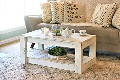 Cheap White Farmhouse Coffee Table living room table for sale