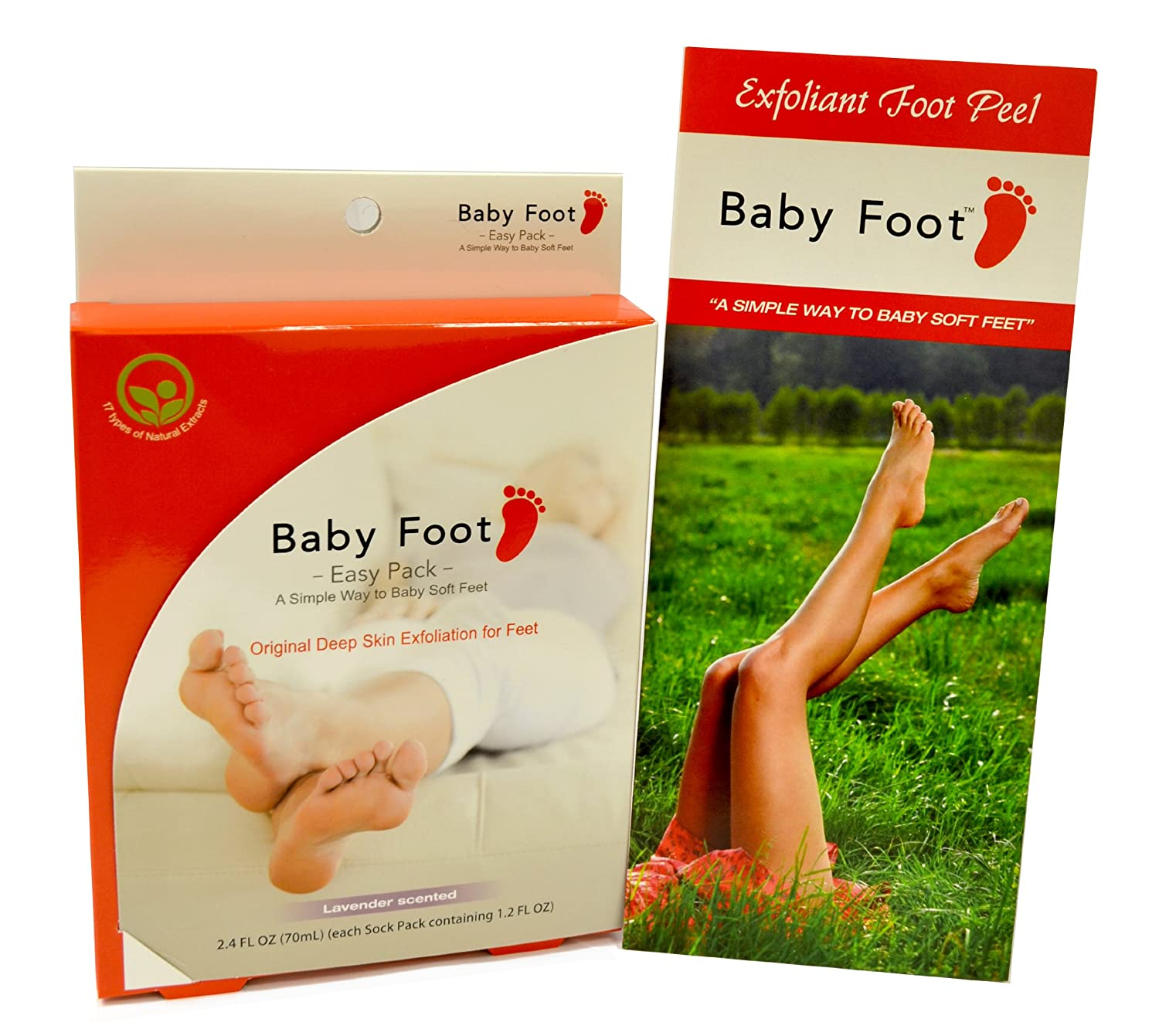 Amazon : Baby Foot Scented Foot Care, Lavender, 24 Fl Oz, 6 Count :  Corn And Callus Treatment Products : Beauty
