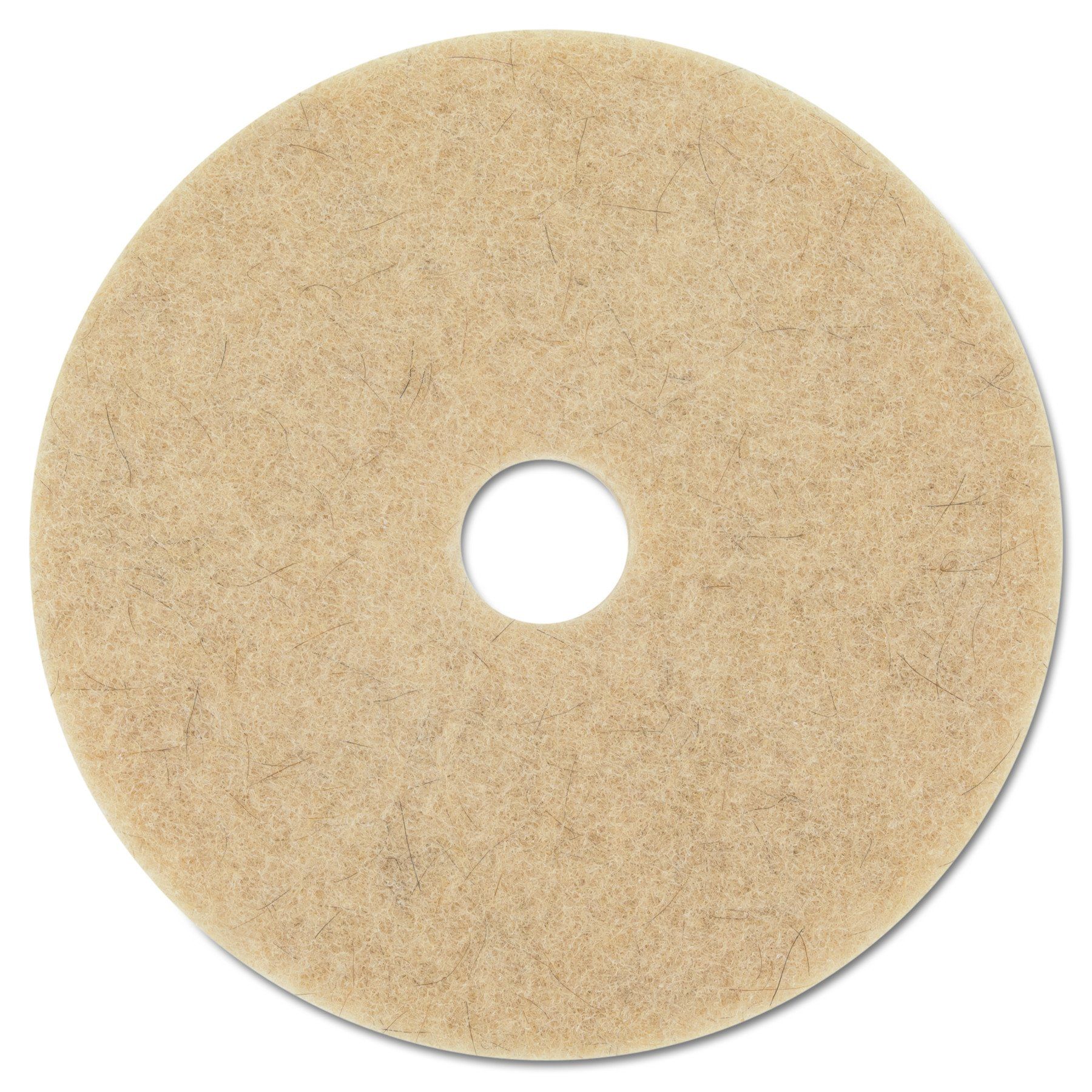 3M MCO 20317 Ultra High-Speed Natural Blend Floor Burnishing Pads, 27'', Tan (Pack of 5)