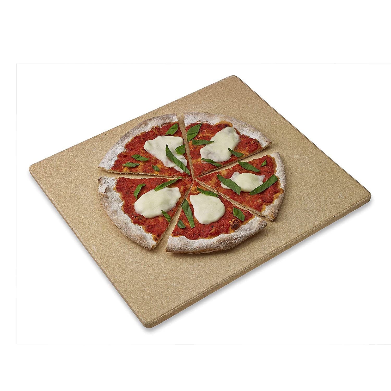 Old Stone Oven Rectangular Pizza Stone (Certified Refurbished)