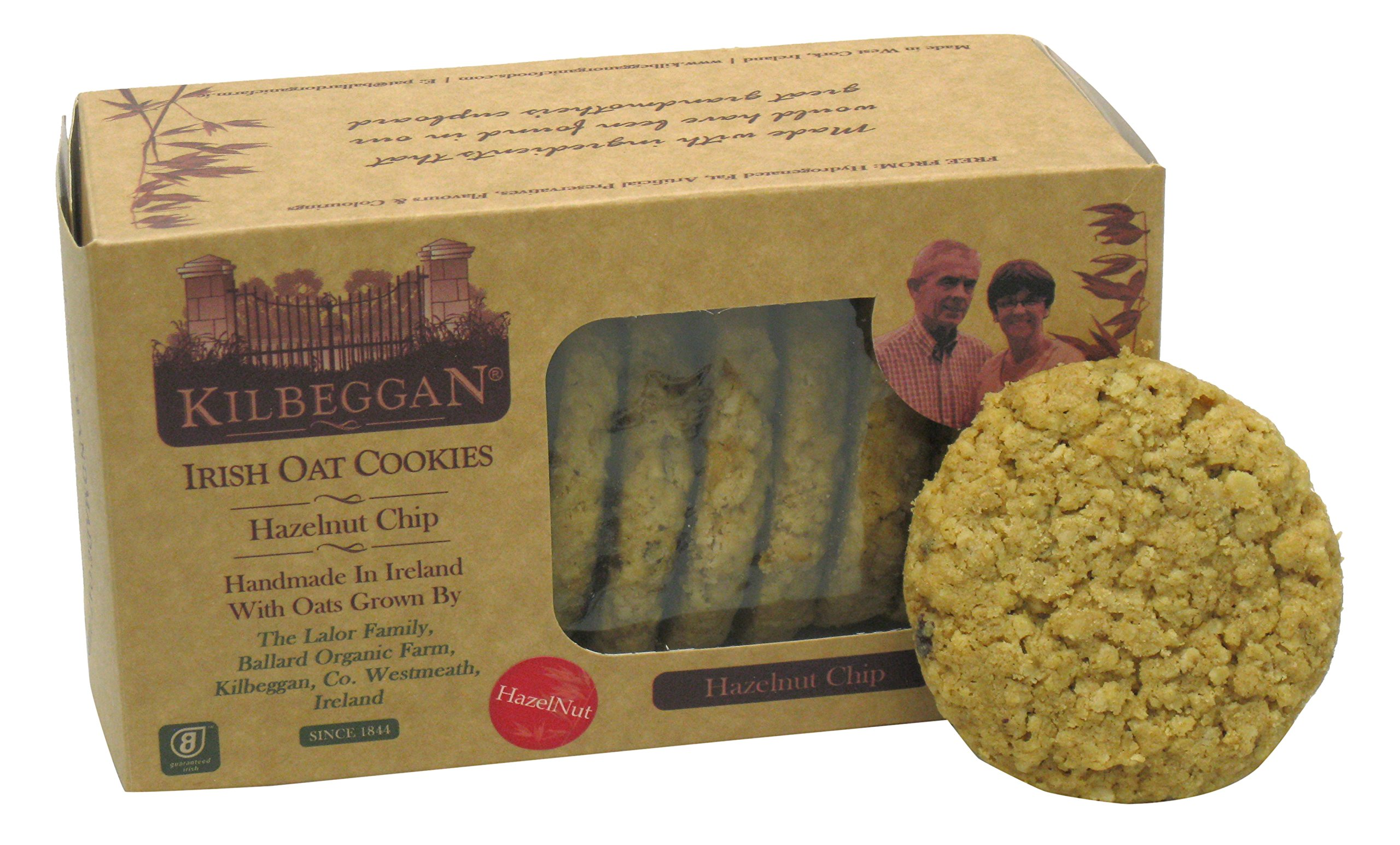Kilbeggan Irish Oat Cookies, Hazelnut Chip, 7 Ounce