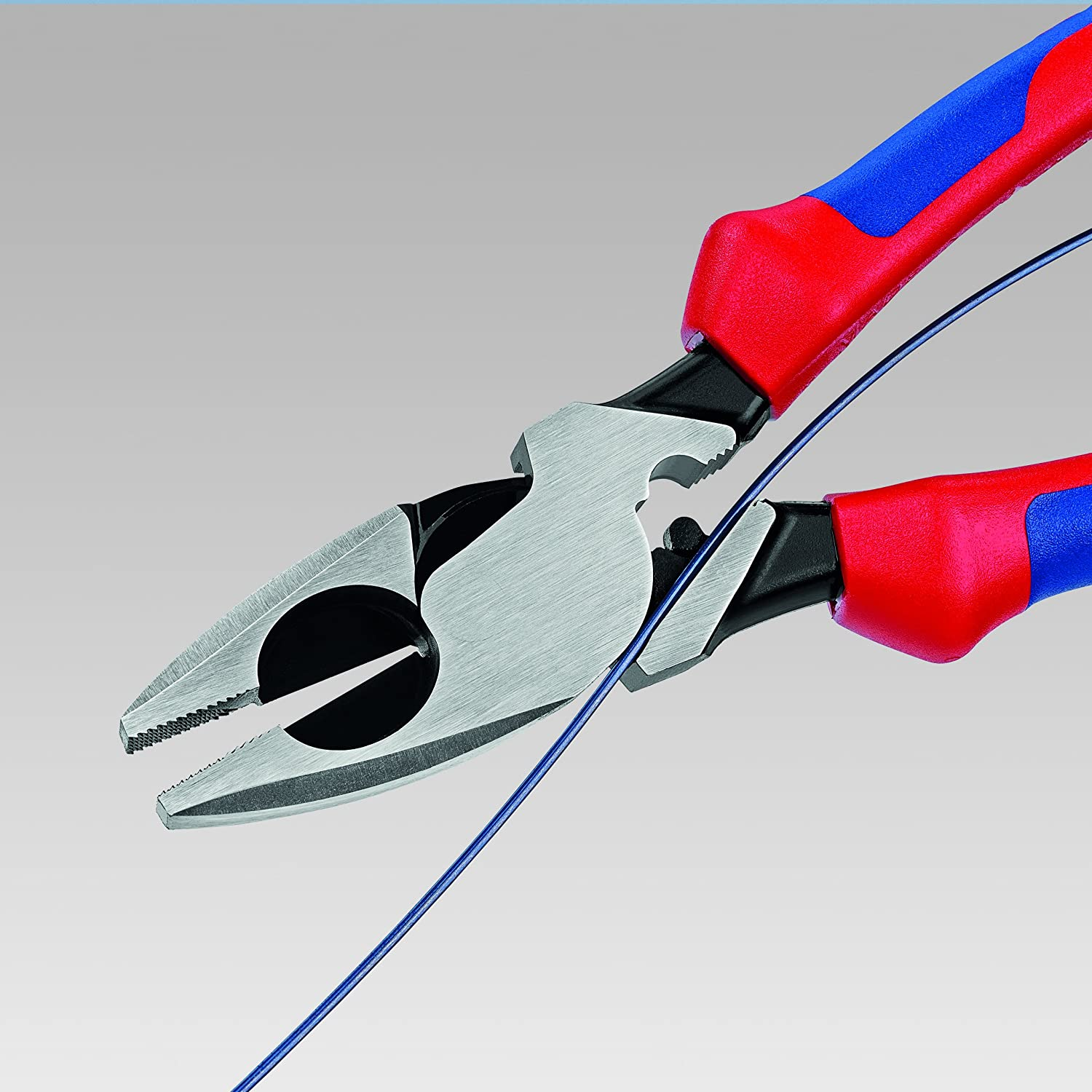 Knipex 09 12 240 SBA 9.5-Inch Ultra-High Leverage Lineman\'s Pliers ...