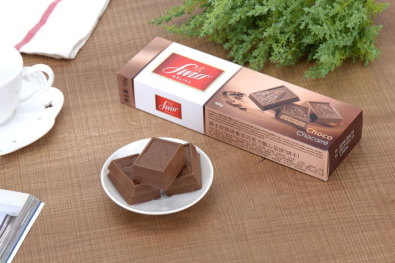 Chocarré Galletas De Chocolate Swiss Delice 100 G: Amazon.es: Alimentación y bebidas
