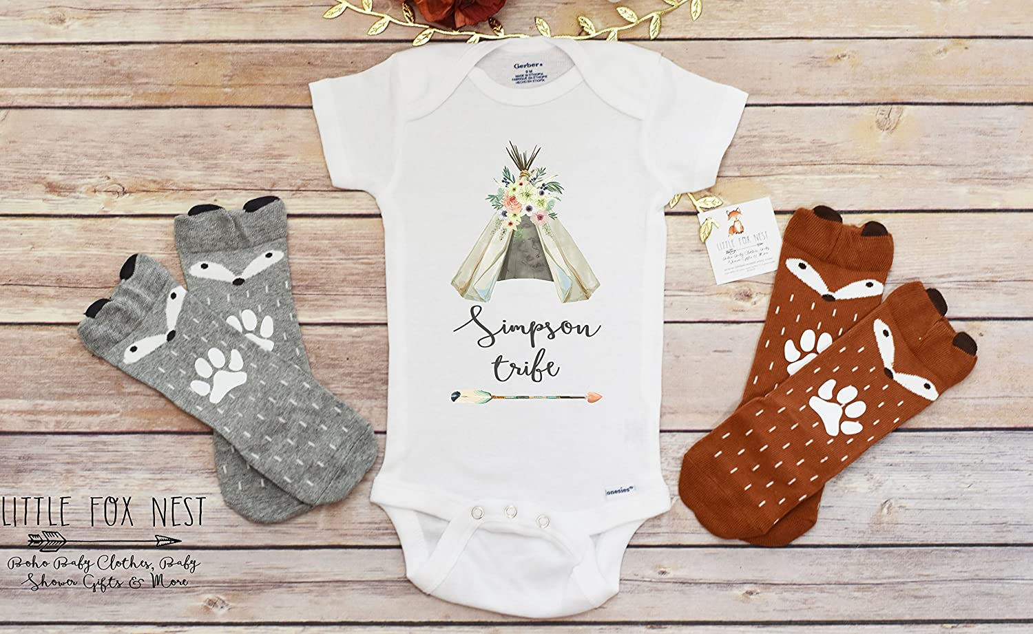 Amazon.com: Boho Baby Clothes, Baby Girl Clothes, Baby Shower Gift