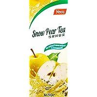 Yeo's Snow Pear Tea, 250ml, Pack of 6