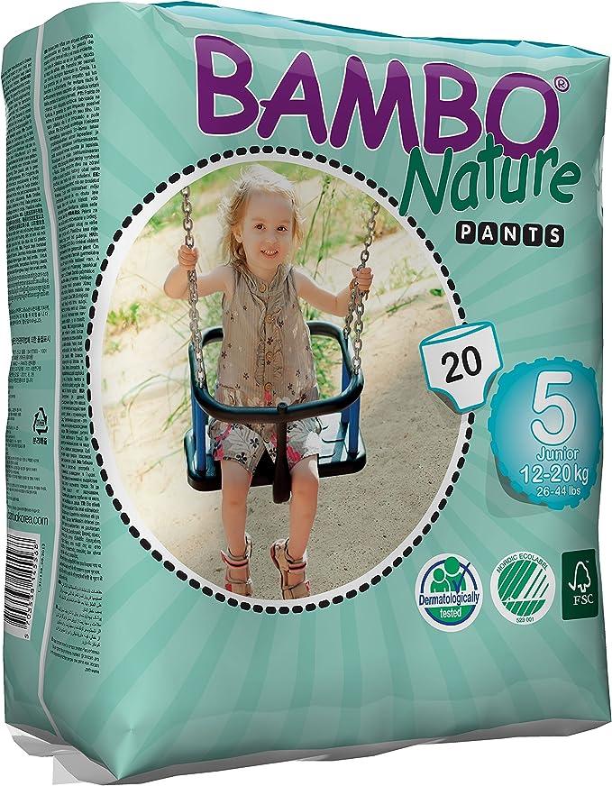 / Abena Bambo Nature Junior Taille 5/ /20/pi/èces par lot 12/–20/kg /WC dentra/înement Pull Up Pants/