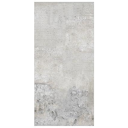 Panel japones Shabby concrete look 250x120cm | paneles japoneses separadores de ambientes cortina paneles japoneses cortina