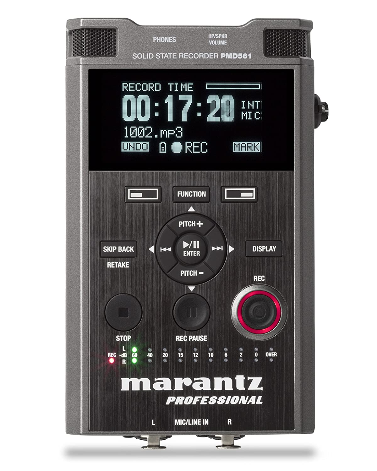 Amazon.com: Marantz Professional PMD-561 Handheld Solid-State Recorder:  Musical Instruments