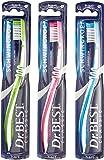 Dr. mejor swing de cepillo de dientes duro Paquete de 6