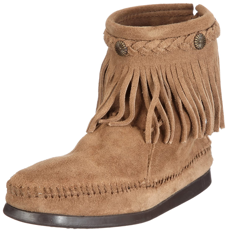 Minnetonka Women's 299 Back-Zip Boot B004VWLDEK 5 B(M) US|Taupe