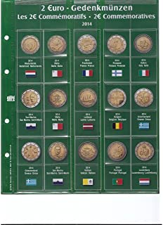1 X Safe 7341 10 2 Euromünzen Premium Vordruckblatt Nachtrag 2013