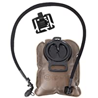 Seibertron Hydration Bladder 2 Liter Water Reservoir Water Bladder Hydration Pack Bladder FDA Approved Tasteless and BPA-Free TPU Material Large Opening Quick Release Tube and 2 Years Warranty