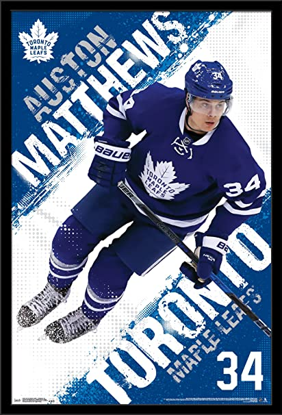 Trends International Wall Poster Toronto Maple Leafs Auston Matthews 22375 X 34