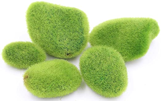 Lebeila Moss Balls Vase Filler Moss Balls Decorative Stones