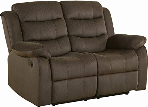 Coaster Home Furnishings Motion Loveseat