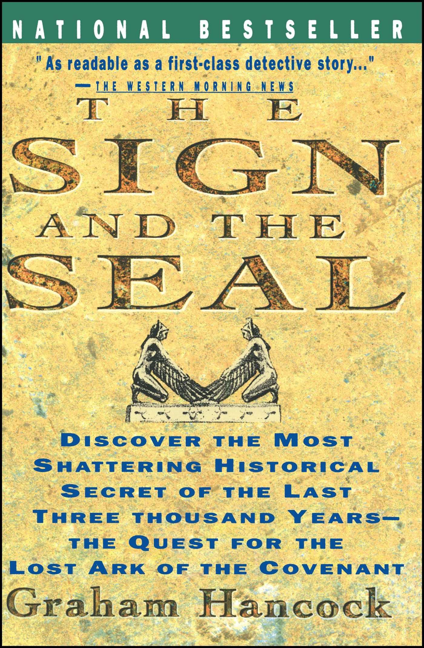 Designer deals club for hancock - Sign And The Seal The Quest For The Lost Ark Of The Covenant Graham Hancock 8601420119871 Amazon Com Books