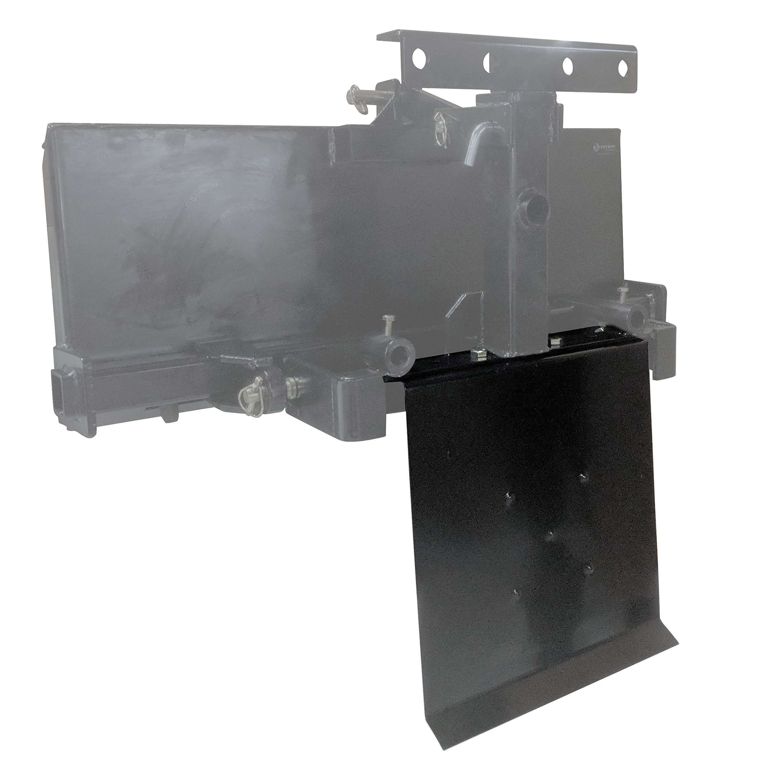 Titan Logging Skid Plate for Transformer Tractor Hitch by Titan Attachments