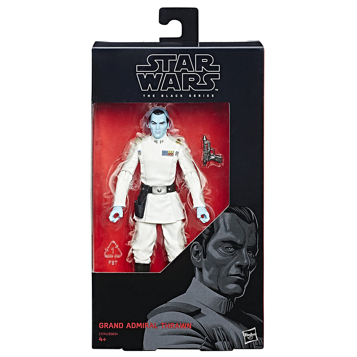 Hasbro Star Wars C1774ES0 - Rebels The Black Series 6 Zoll Figur: General Thrawn, Actionfigur