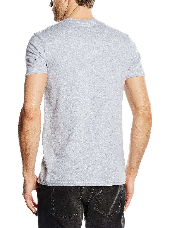 Marvel T-Shirt Uomo Comic Strip Logo T-Shirt