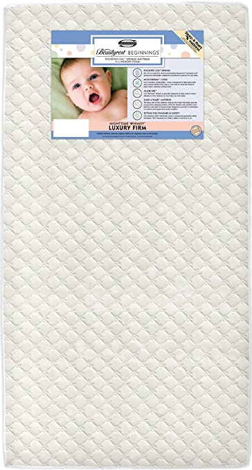 simmons kids beautyrest beginnings sleepy whispers ultra deluxe 2 in 1 crib and toddler mattress. simmons kids beautyrest beginnings nighttime whimsy luxury firm baby crib and toddler mattress (discontinued by sleepy whispers ultra deluxe 2 in 1