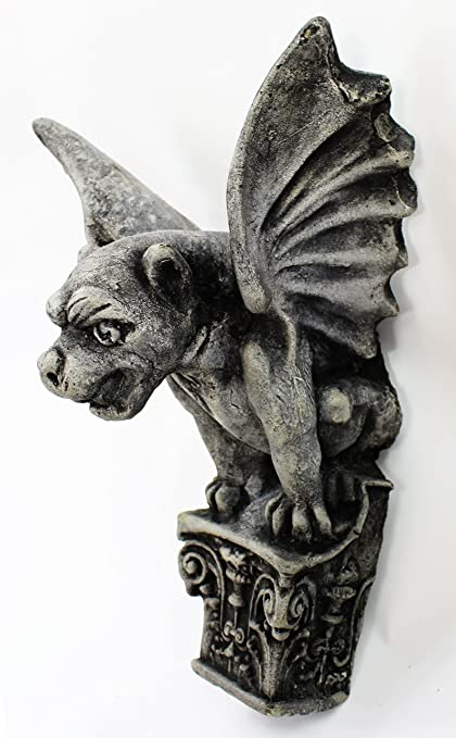 Amazon Gargoyle Hanging Wall Plaques Home And Garden Statuary