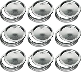 product image for Mason Jar Wide Mouth Lids and Bands/Lot of 12