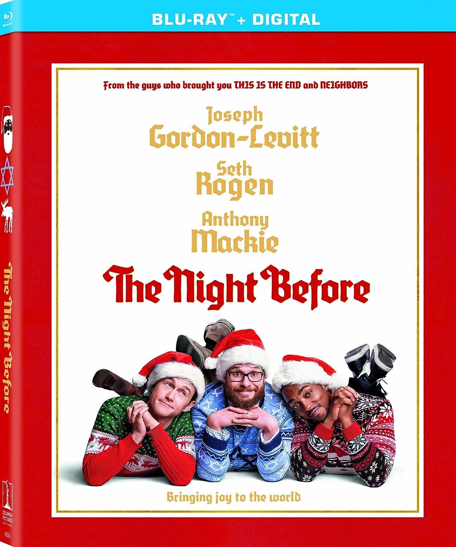 Amazon.com: The Night Before [Blu-ray]: Lizzy Caplan, Anthony Mackie ...