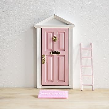 La petite souris: Porte Magique Rose + petite clef + Carte de voeux+ ...