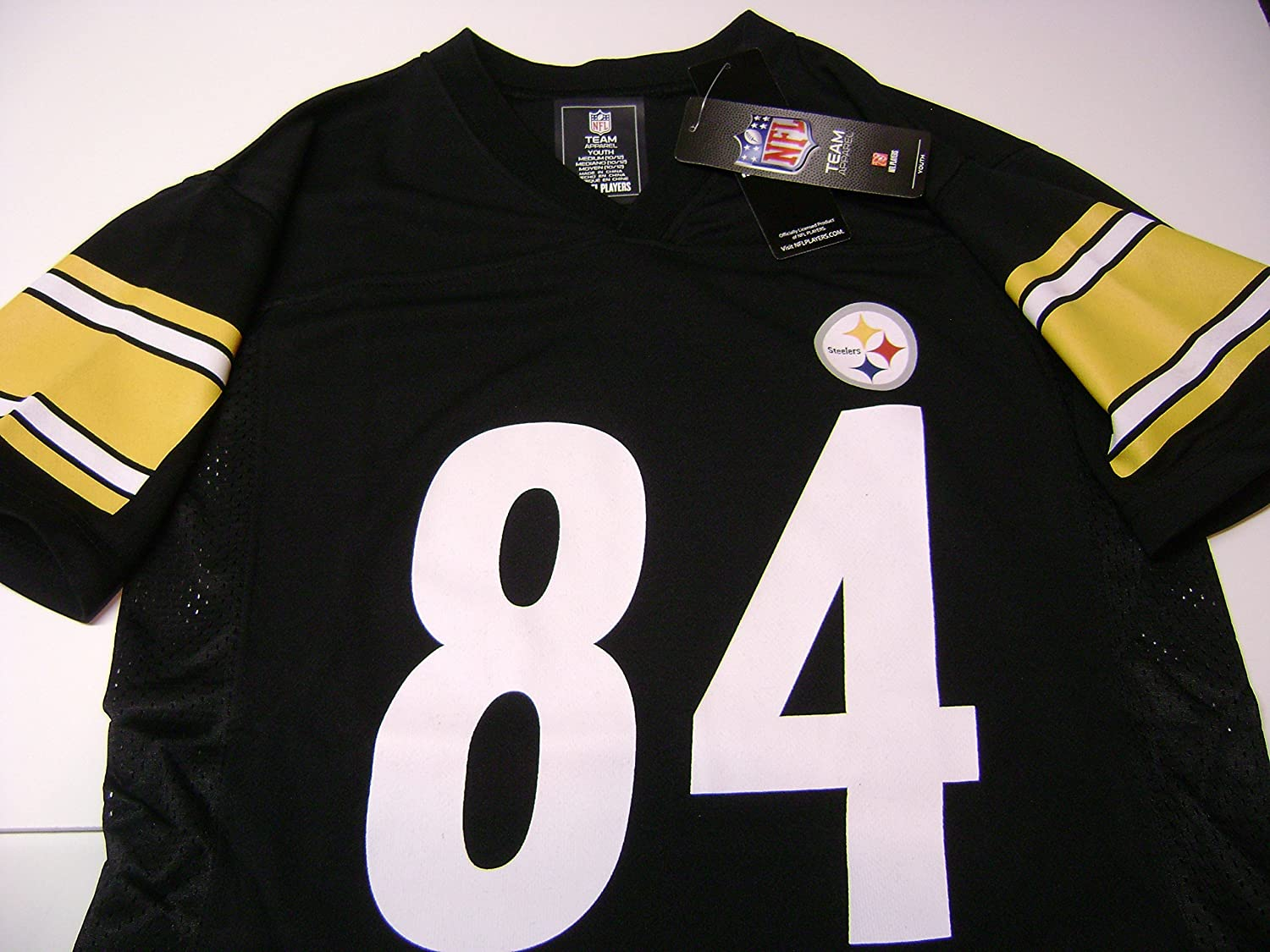 ba89682b7 Amazon.com   Outerstuff Antonio Brown Pittsburgh Steelers Youth Black Jersey    Football Jerseys   Sports   Outdoors