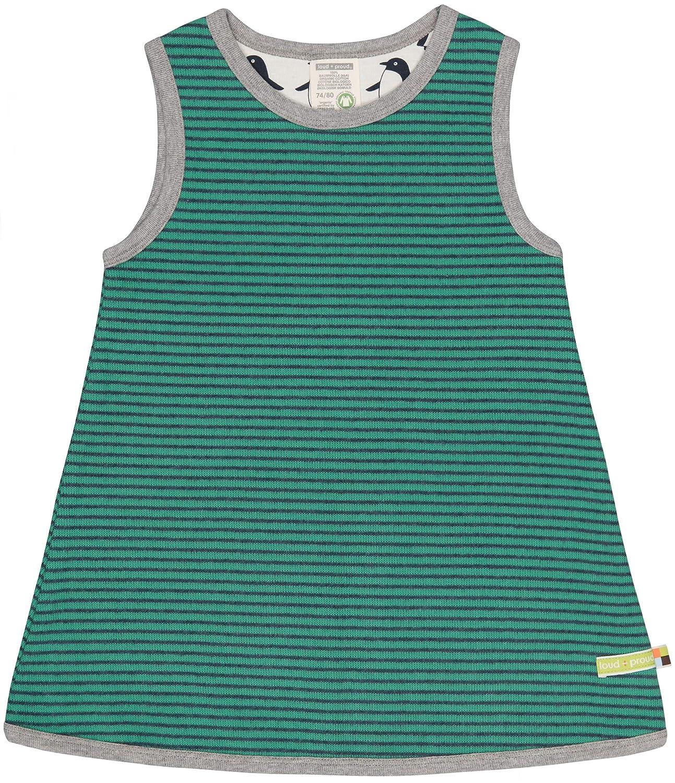 loud GOTS Zertifiziert Vestito Bambina proud Kleid Ringel aus Bio Baumwolle