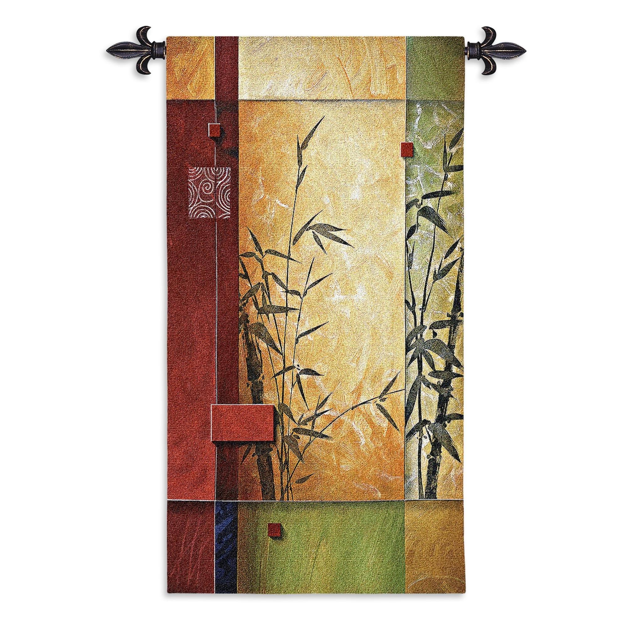 Fine Art Tapestries ''Garden Dance I Wall Tapestry
