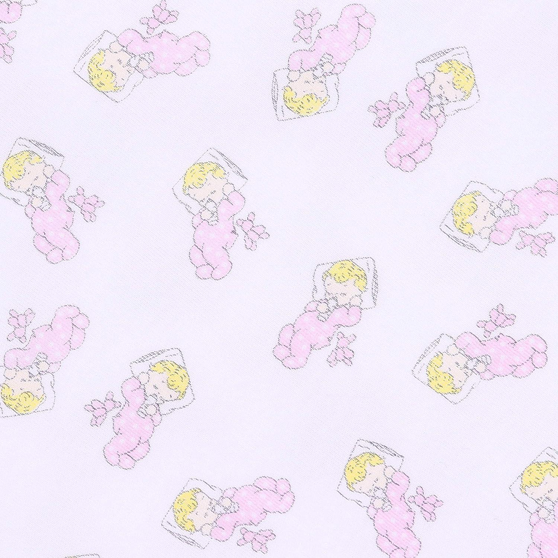 Magnolia Baby Baby Girl Vintage Baby Long Sleeve Pajamas Pink