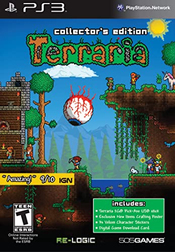 Terraria-C E : playstation 3: 505 Games: Amazon com au