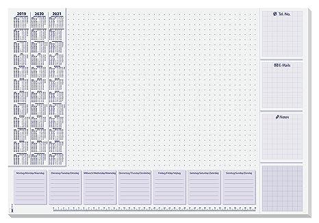 Schreibtischunterlagen papier