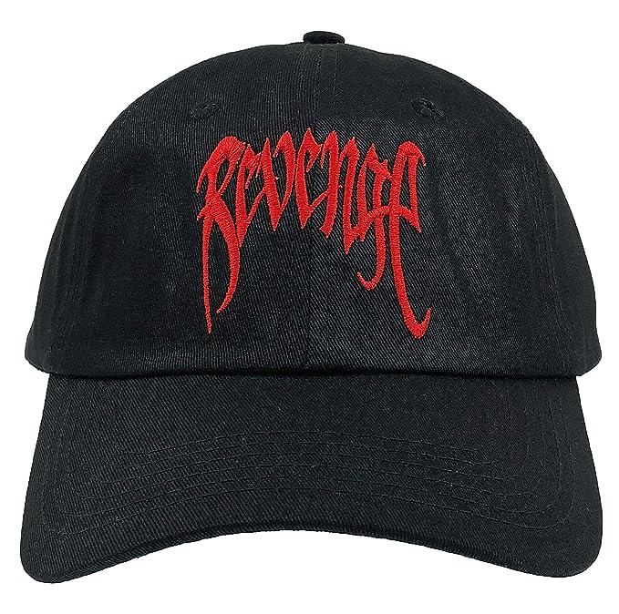 974bf8e44e957 Gaivava Revenge Hat Dad Hat Baseball Cap Adjustable Embroidered (Black)