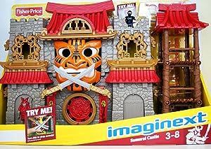 Imaginext Fisher Price - Imaginext - Samurai Castle - With 2 Mini Figures & Accessories - V8704