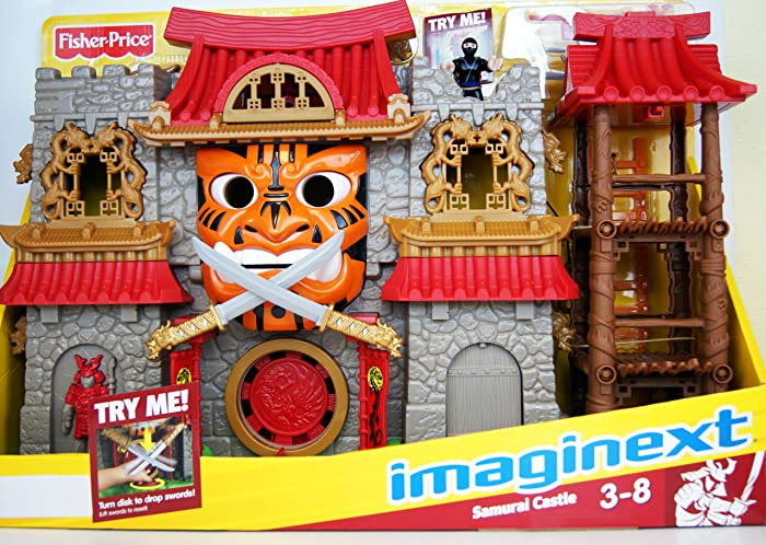 Imaginext Fisher Price - Imaginext - Samurai Castle - With 2 Mini Figures & Accessories - V8704