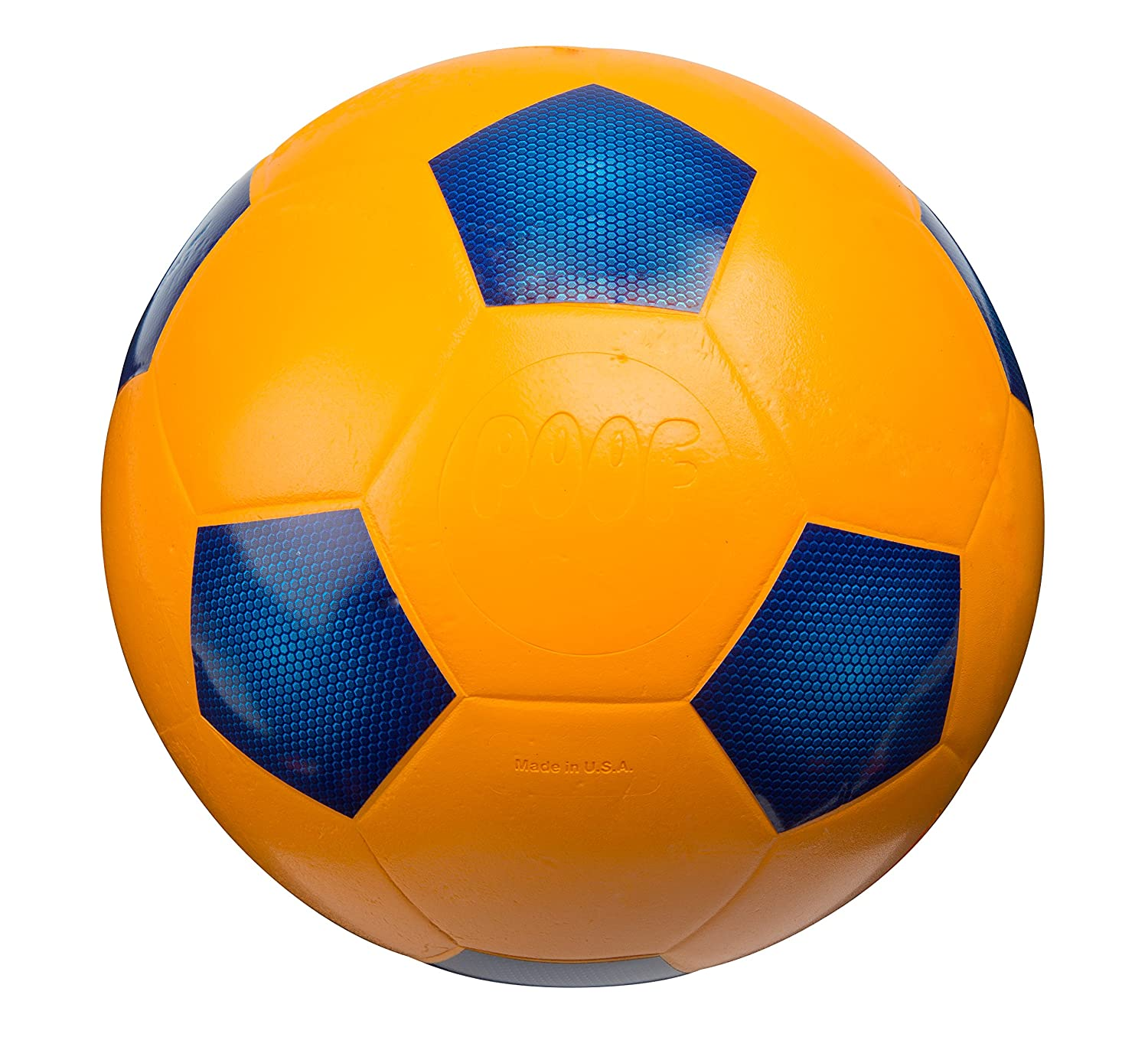 amazon com poof 7 5 inch foam soccer ball toys games