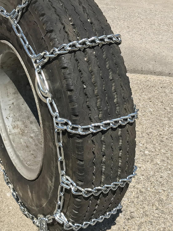Priced per Pair TireChain.com 9.00-20 10-22.5 255//80R22.5 265//75R22.5 275//80R22.5 295//75R22.5 305//70R22.5 Cable Tire Chains
