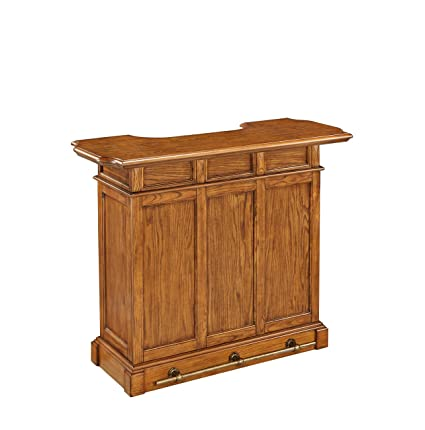 Amazon Home Styles Model 5004 99 Oak Finish Americana Bar