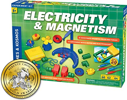 Kids Science Kit Magnet Magnetic Games Experiments Learn School Boy Girl NEW
