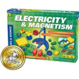 Thames & Kosmos Electricity & Magnetism Science Kit | 62 Safe Experiments Investigating Magnetic Fields & Forces for…