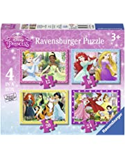 Ravensburger Disney Princess 4 in a box (12, 16, 20, 24pc) Jigsaw Puzzles