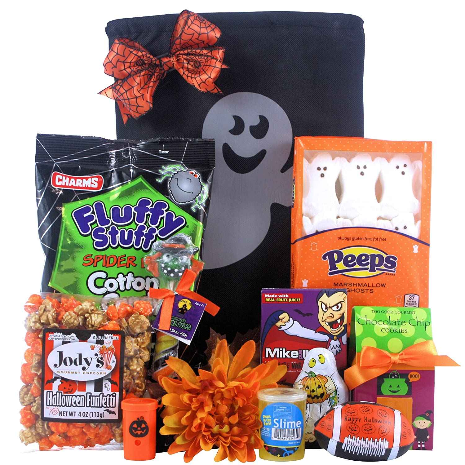 Amazon scary spooky fun halloween gift basket tween boy amazon scary spooky fun halloween gift basket tween boy ages 9 to 12 gourmet candy gifts grocery gourmet food negle Image collections