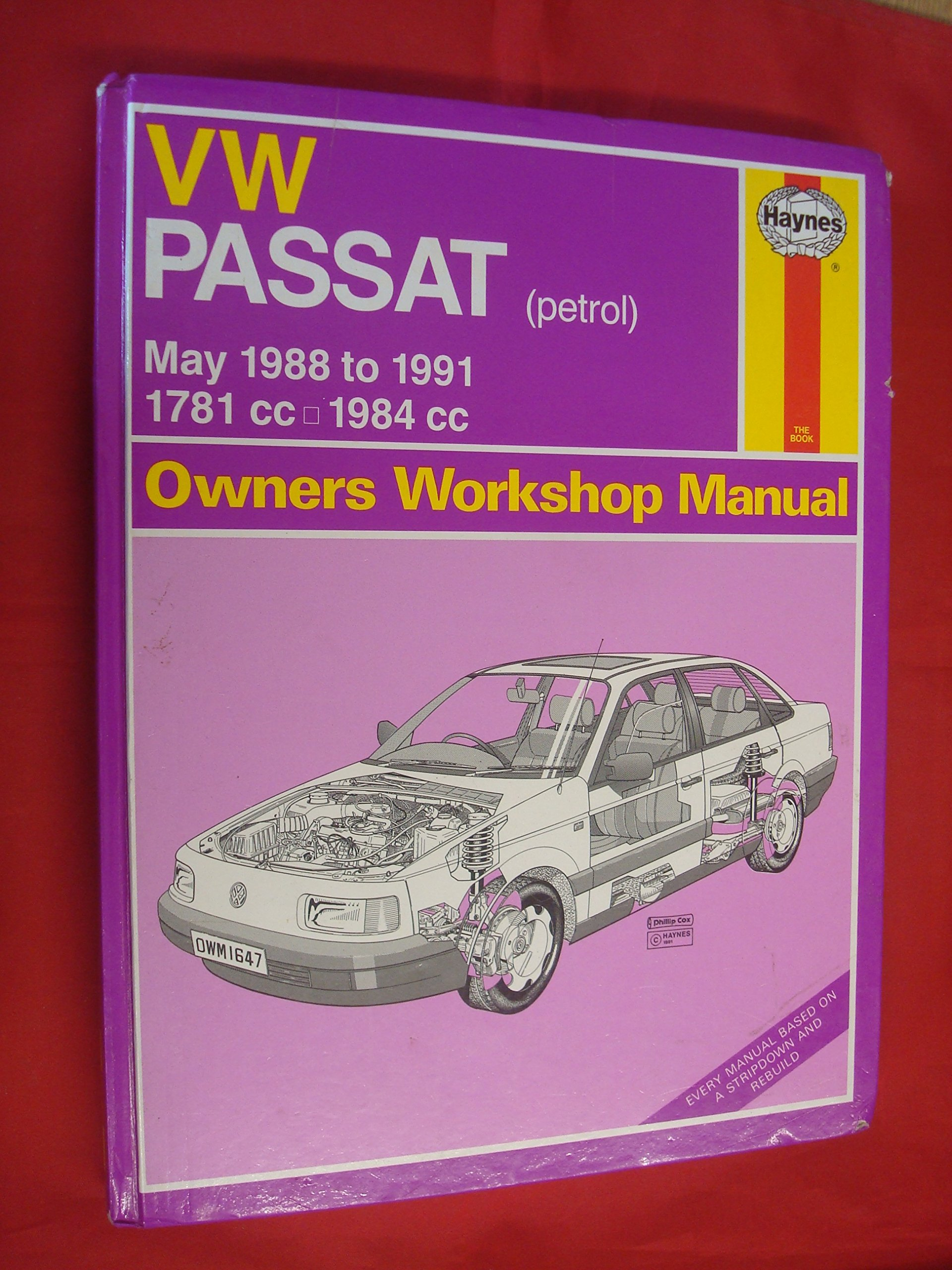Volkswagen Passat (May '88 to '91) (Service and Repair